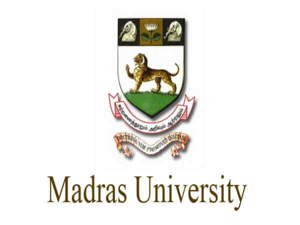Madras University Result Released