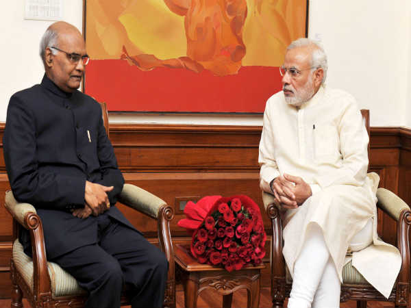 Ram Nath Kovind elected as the 14th President