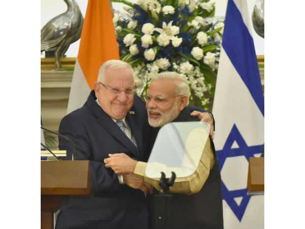 PM Narendra Modi visits Israel