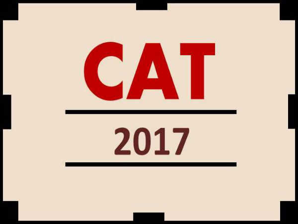 CAT 2017 Application Form Available for Correction