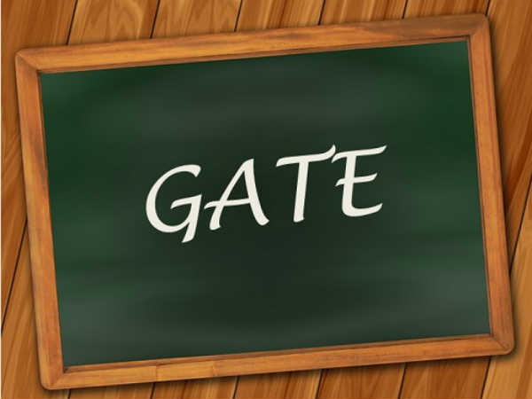 GATE 2018 Application Correction Window Opens: Edi
