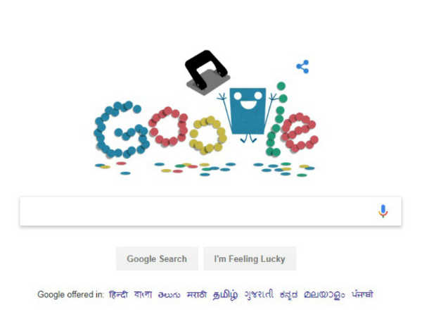 Google Doodle Punches A Narrow Hole, Skips Children's Day 2017
