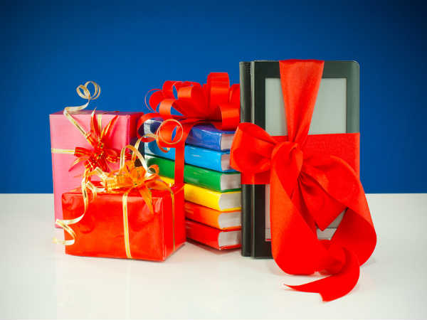 Christmas Gift Ideas: Be A Santa Clause, Gift Books As Presents