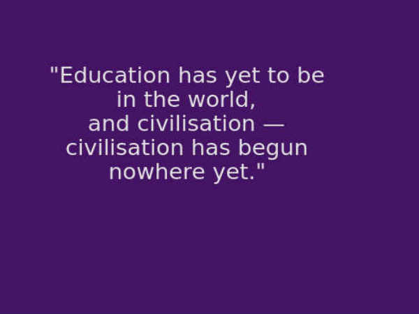 Swami Vivekanandas Best 10 Quotes On Education For Teachers Day