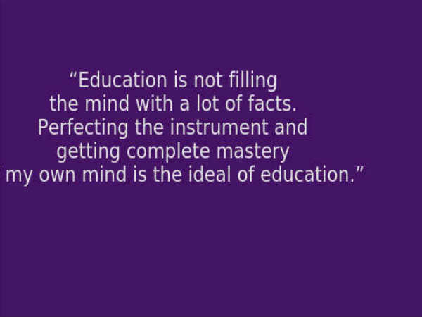 Swami Vivekananda's Best 10 Quotes On Education For