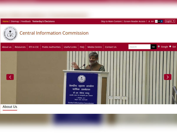 Central Information Commission Recruitment 2018 For Registrar