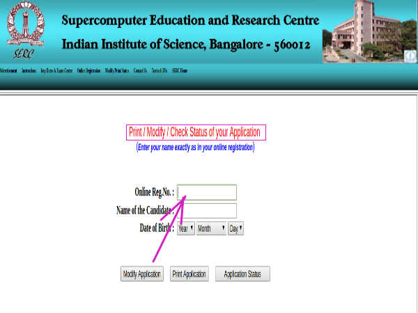 Indian Institute Of Science Recruitment For System