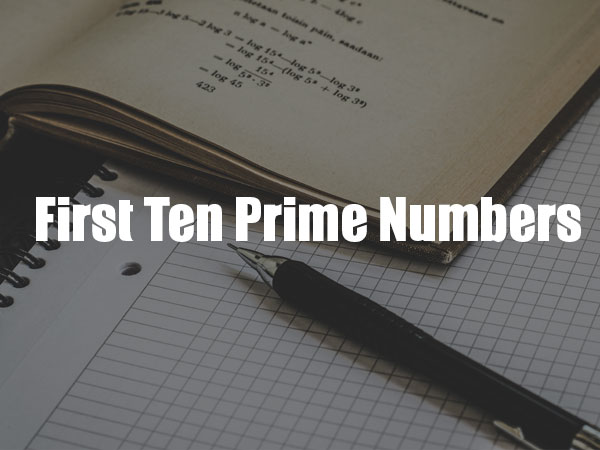 Range Of Prime Numbers