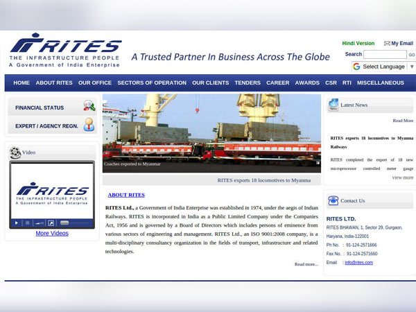 RITES Ltd Recruitment 2018 For Deputy General Manager