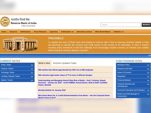 Reserve Bank Of India Recruitment 2018 For Medical Consultant