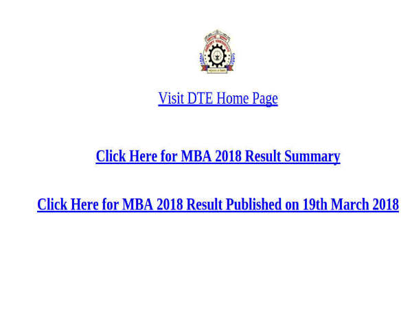 Maharashtra MBA CET 2018 Results Declared: Check Now!