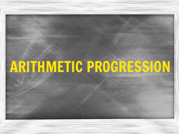2. Arithmetic Progression