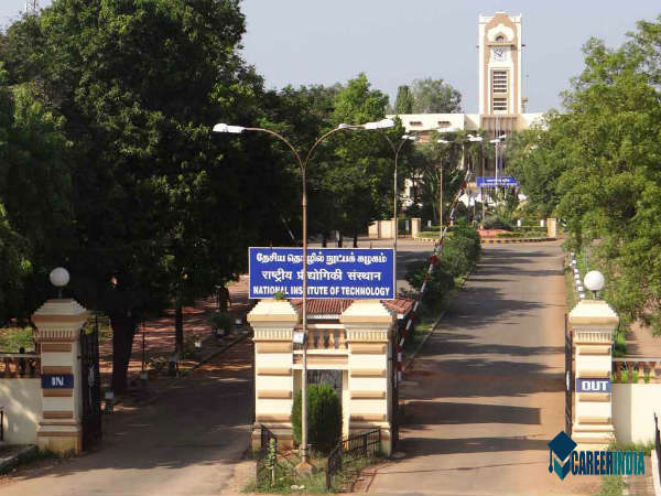 4. National Institute Of Technology, Tiruchirappalli