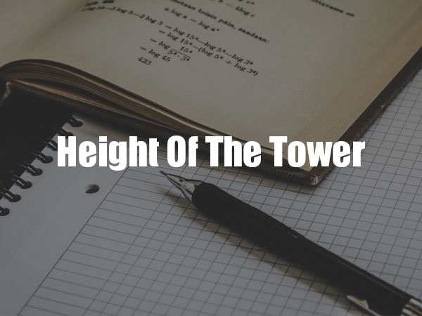 Height Of The Tower