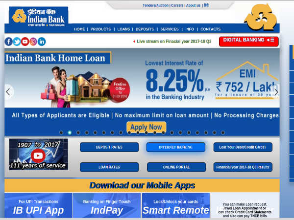 online apply for home loan in central bank of india