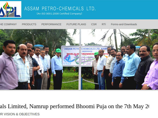 Assam Petro-Chemicals Ltd Recruitment 2018 For Graduate And Management Trainees