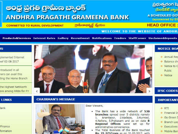 Andhra Pragathi Grameena Bank Recruitment 2018