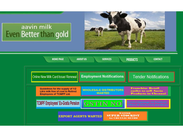 Tamil Nadu AAVIN Milk Recruitment 2018 For Various Posts