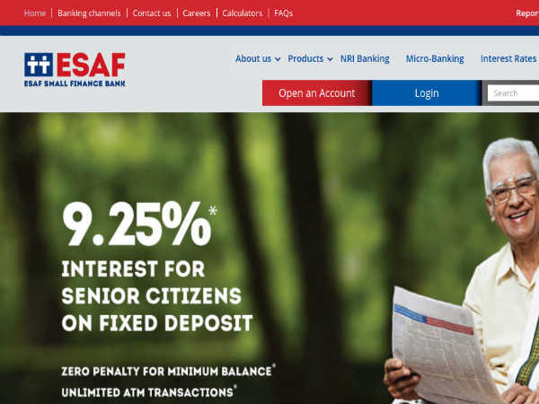 ESAF Bank Recruitment For 3000 Vacancies