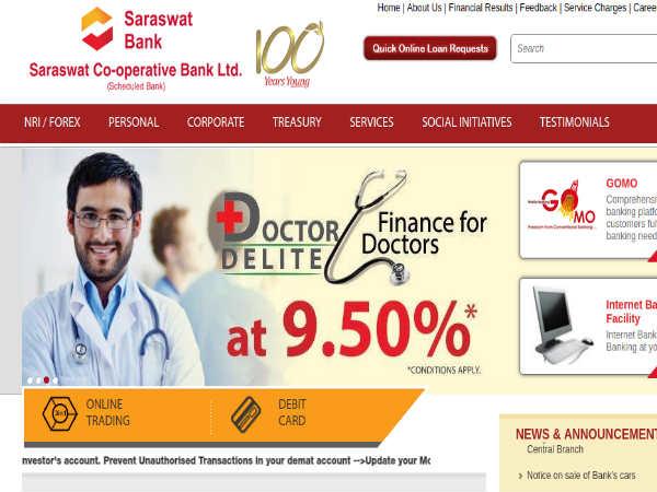 Saraswat Bank Recruitment 2018