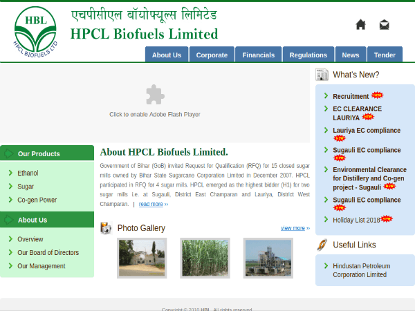 HPCL Biofuels Recruitment: Walk-in Interviews For 56 Management And Non-management Vacancies