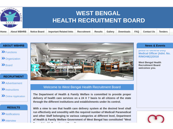 WBHRB Recruitment For 6966 Staff Nurse Vacancies