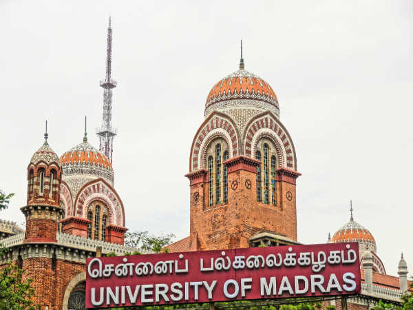 Madras University Retotalling Results