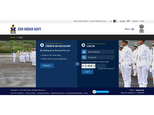 Indian Navy Recruitment 2018 For 37 SSC Officers