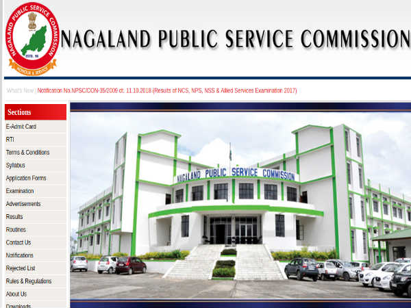 Nagaland Public Service Commission NPSC Recruitment 2019 - 17  LDA-Cum Computer Assistant