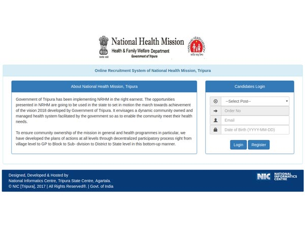 NHM Recruitment 2018 For 180 Community Health Officers
