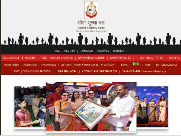 BSF Recruitment 2019 For 1763 Constables