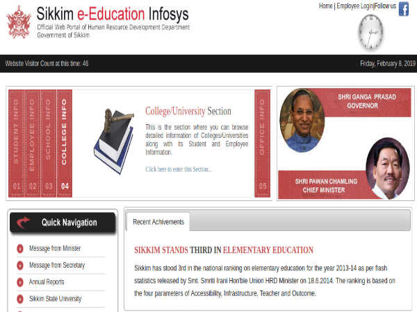 Sikkim Teachers Recruitment 2019 For 249 Post Graduate Teachers (PGT) In Multiple Disciplines