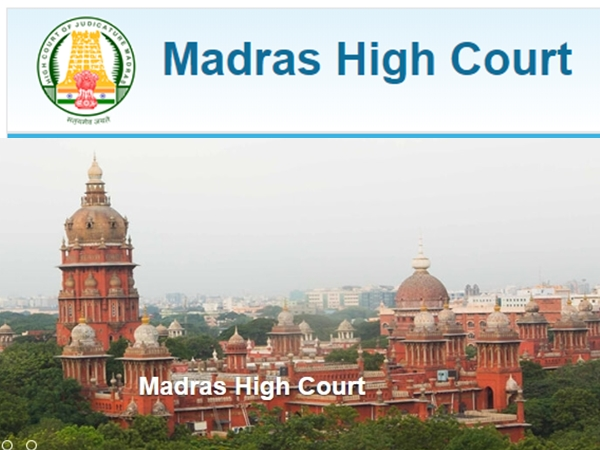 Madras High Court Recruitment: Law Clerk