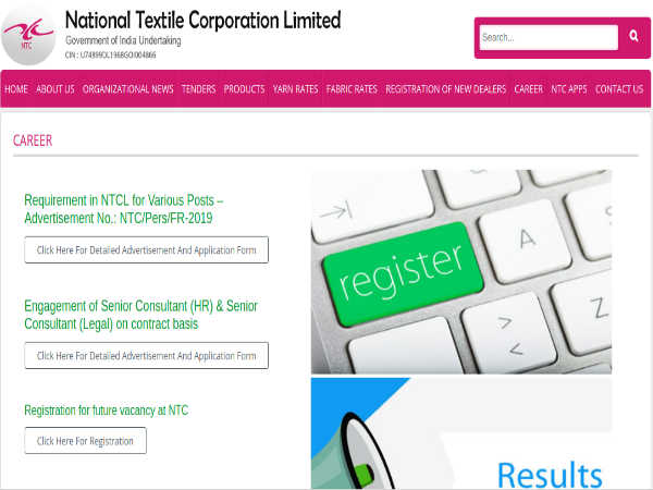 NTCL Recruitment 2019 For 109 Managerial, Executive Posts; Apply Offline Before April 12