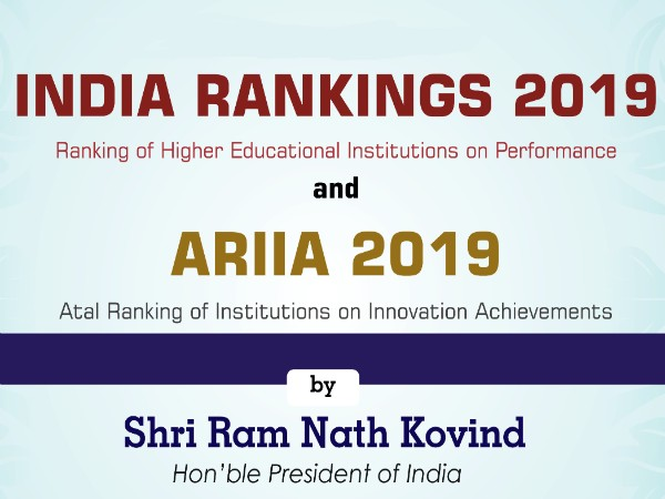 NIRF Rankings 2019 Released