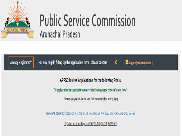 Arunachal PSC Recruitment 2019 For Junior Engineers; Earn Up To 1.12 Lakh Per Month