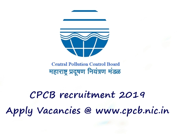 CPCB Recruitment 2019 For Jr. Researches