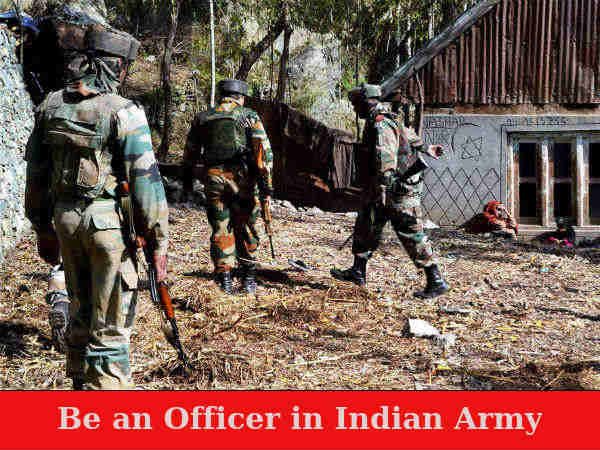 Indian Army Recruitment 2019: Officers