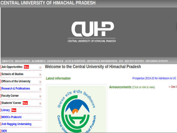 CUHP Recruitment For 128 Professors, Associate And Assistant Professors. Apply Online From May 19