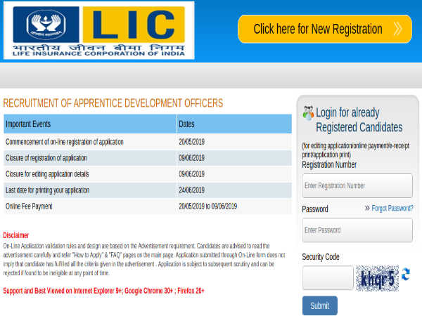 LIC ADO Recruitment 2019: Apply Online For 8581 Apprentice Development Officers Post Before June 09