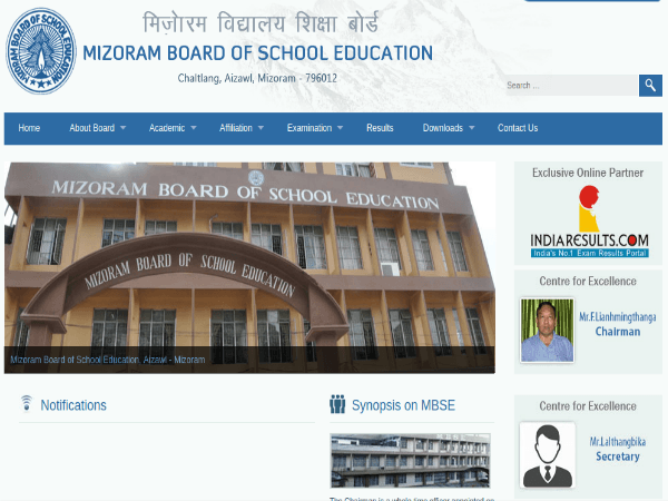 Mizoram Board Class 10th Results 2019