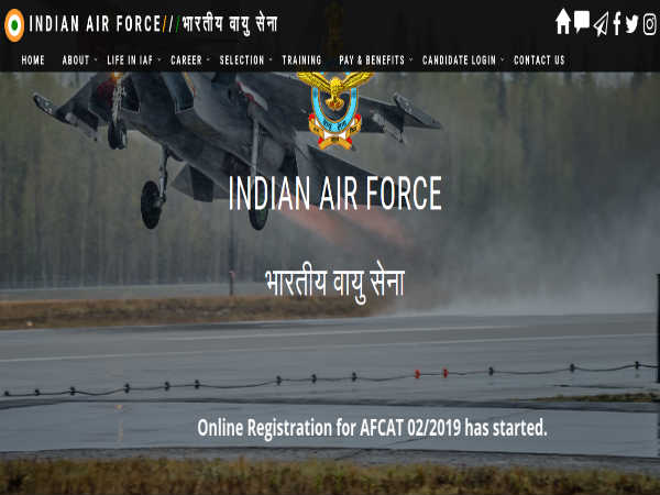 AFCAT Recruitment 2019: 242 Posts