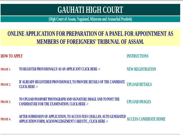 Guwahati High Court Recruitment: Apply Online For 221 Members Post; Earn Up To Rs. 85,000 Per Month