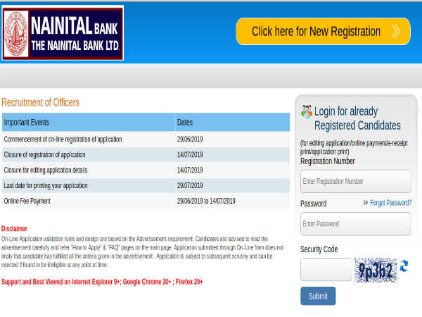 NAINITAL Bank Recruitment For 130 Specialist And Probationary Officers