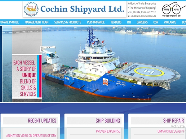 Cochin Shipyard Recruitment 2019: Apply Online For 30 Assistant (HR) Apprentice Posts Before July 25
