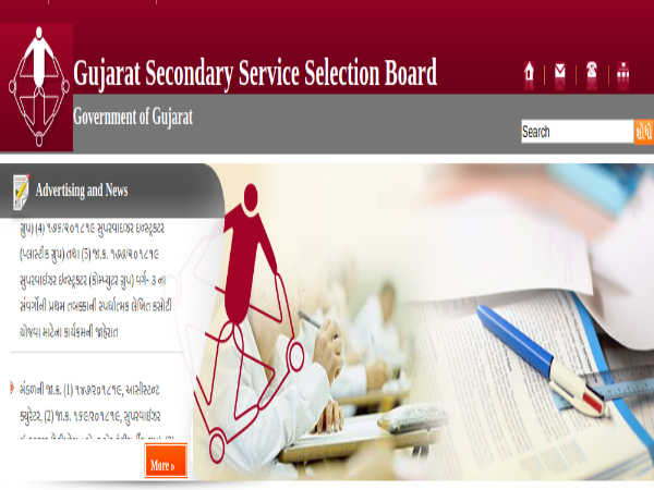 GSSSB Recruitment 2019: 408 Vacancies