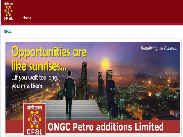 ONGC OPAL Recruitment 2019: Apply Online For Executives Post Before July 20
