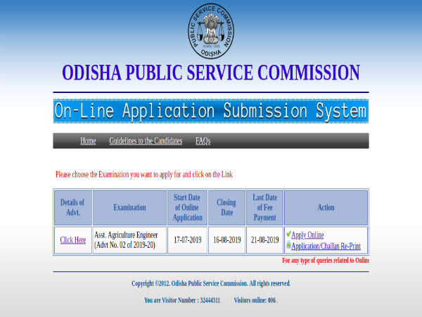 OPSC Recruitment 2019: Apply Online For 130 Asst. Agriculture Engineers Post. Earn Up To Rs. 34,800