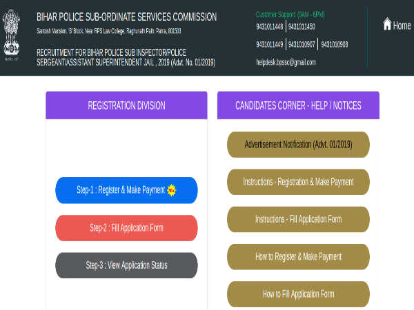 Bihar Police Recruitment 2019:2,446 Post