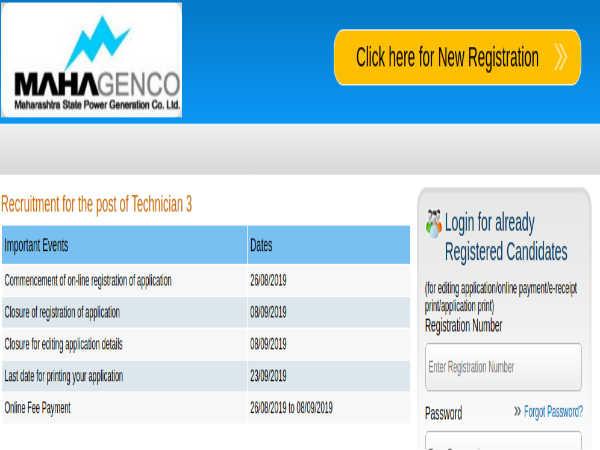 MAHAGENCO Jobs: 746 Technician III